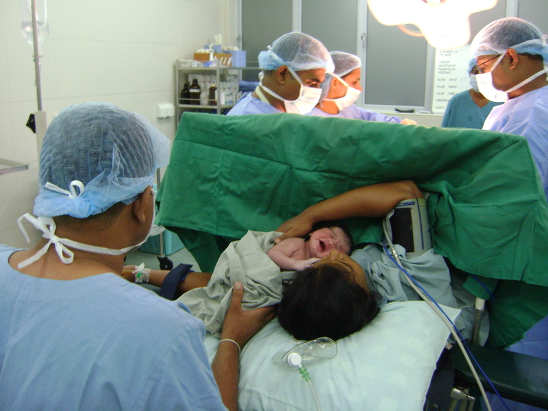 Caesarean  - Elective and emergency - they don't mean what you think they mean