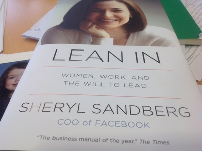 To do list, photo of child, notebook, Lean In by Sheryl Sandberg