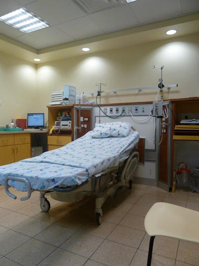 Maternity ward at hospital